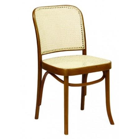 Krzesło drewniane A-8110 z oparciem Paged meble
