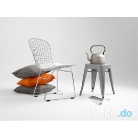 Krzesło Wir Chair, srebrny