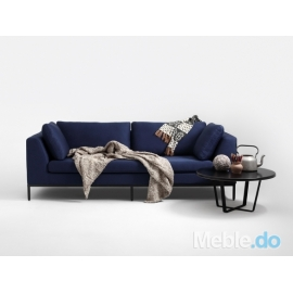 Sofa Ambient 3 os., granatowy