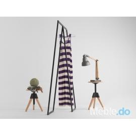 Wieszak ubraniowy Sabu stojący prosty loft